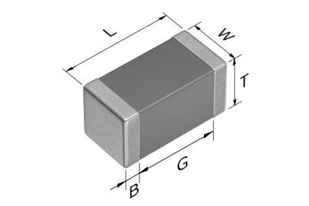 TDK 0603 (1608M) 22pF Multilayer Ceramic Capacitor MLCC 100V dc ±5% SMD CGA3E2NP02A220J080AA (4000)