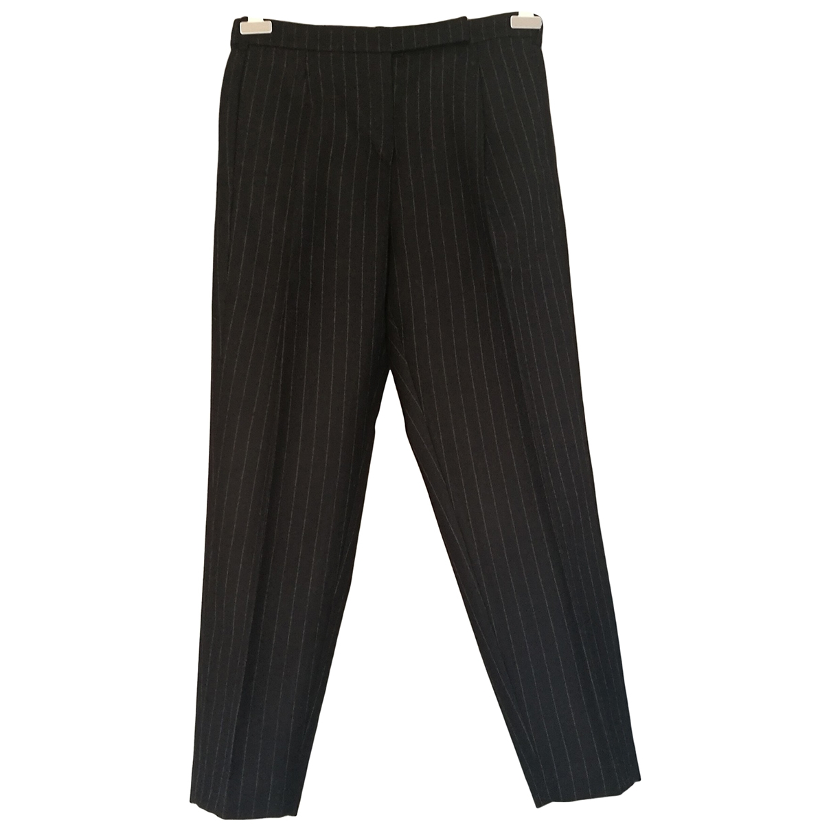Golden Goose \N Black Wool Trousers for Women L International