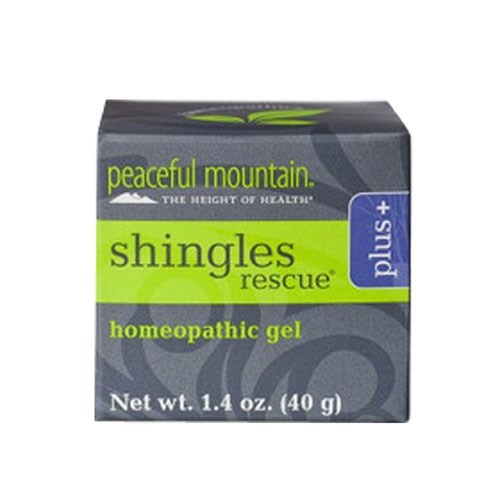 Shingles Rescue Homeopathic Gel Plus 1.4 Oz by Peaceful Mountain