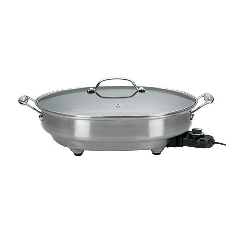 Cuisinart CSK-150 Electric Skillet, One Size , Stainless Steel
