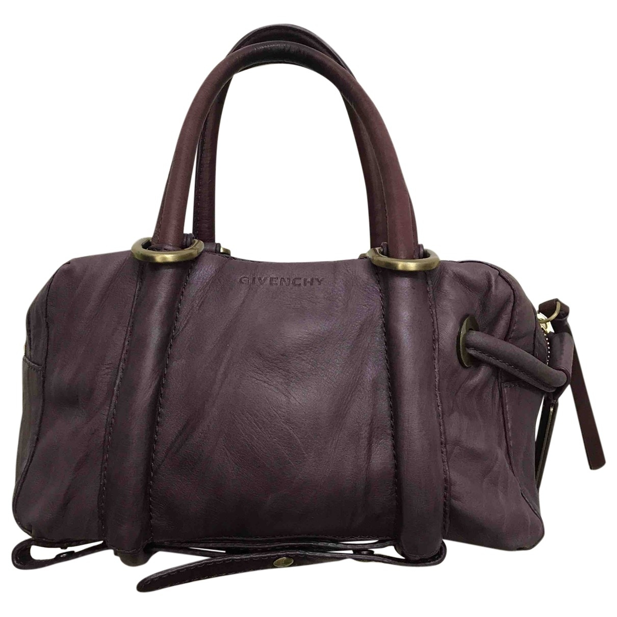 Givenchy \N Purple Leather handbag for Women \N