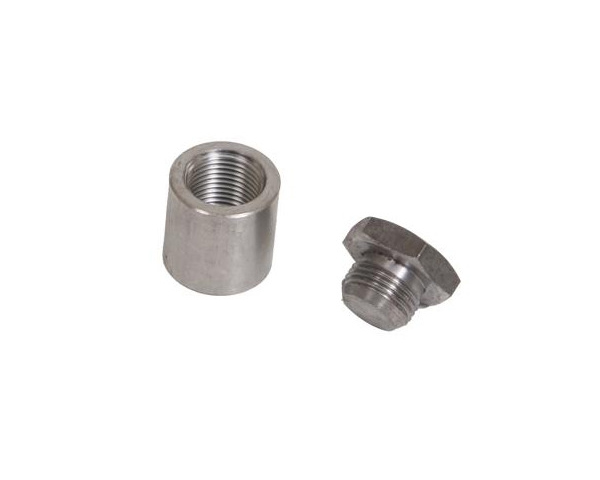 Innovate Motorsports 3838 Extended Bung|Plug Kit Stainless Steel 1 inch Tall