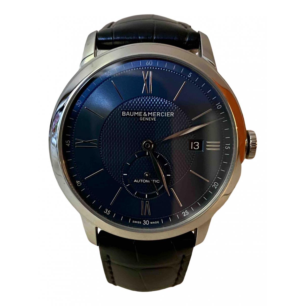 Baume Et Mercier Classima Blue Steel watch for Men \N