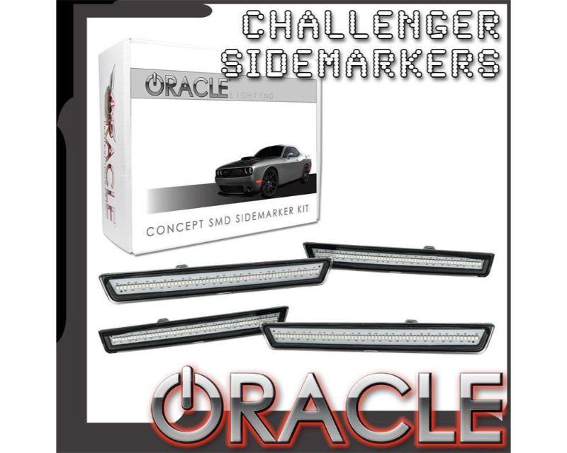 Oracle Lighting 9860-PGM-G Concept Sidemarker Set Go Green - GHOSTED Dodge Challenger 2015-2021
