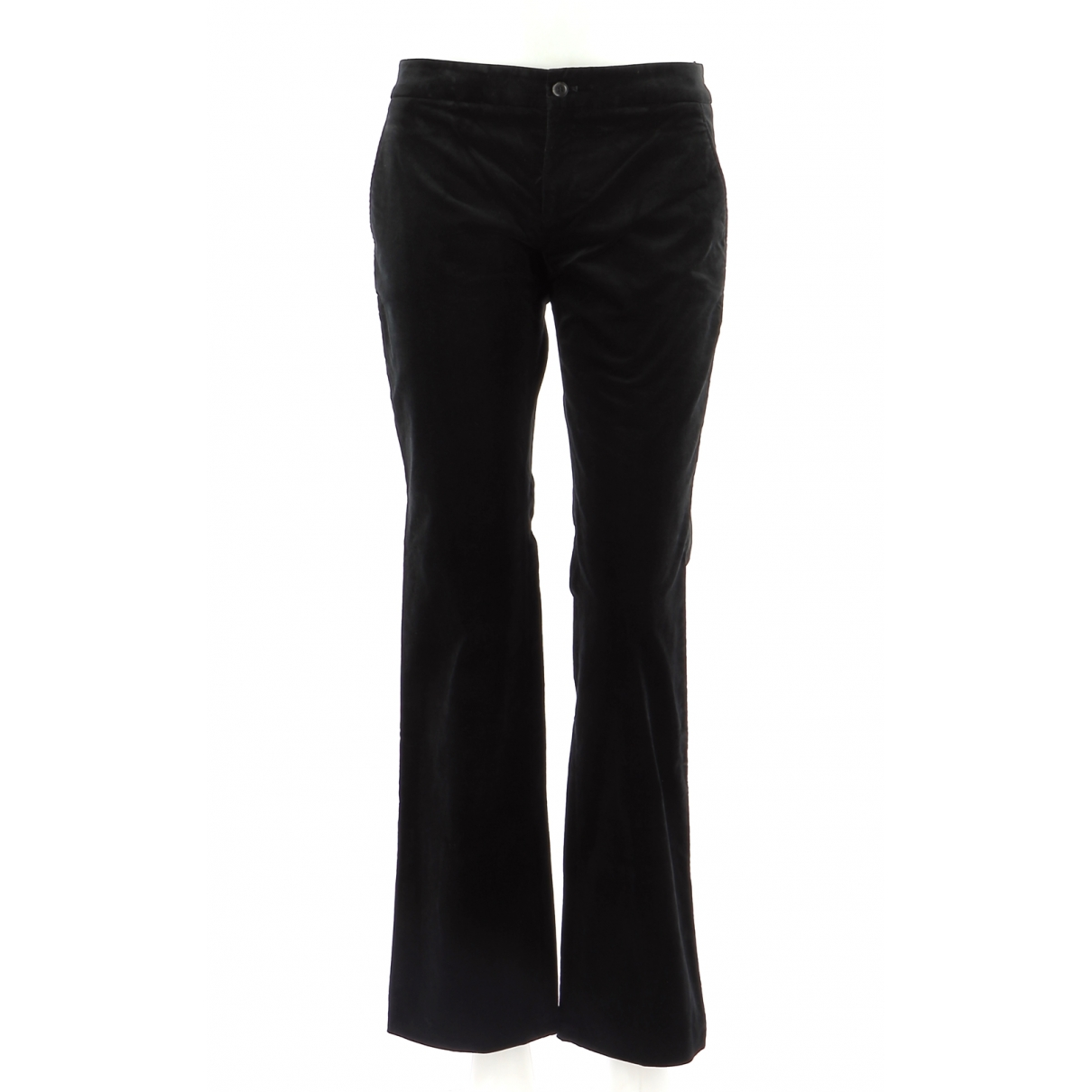 Gucci \N Black Tweed Trousers for Men 38 FR