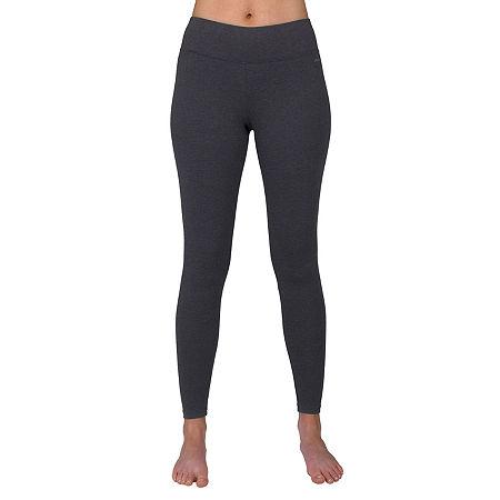 Jockey Womens Mid Rise Legging, Large , Black