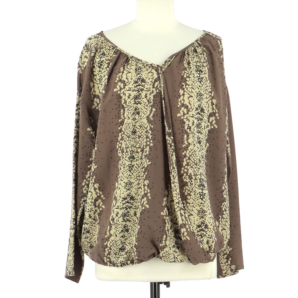 Bel Air \N Brown Silk  top for Women 36 FR
