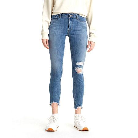 Levi's 711 Skinny Ankle Jean, 29 , Blue
