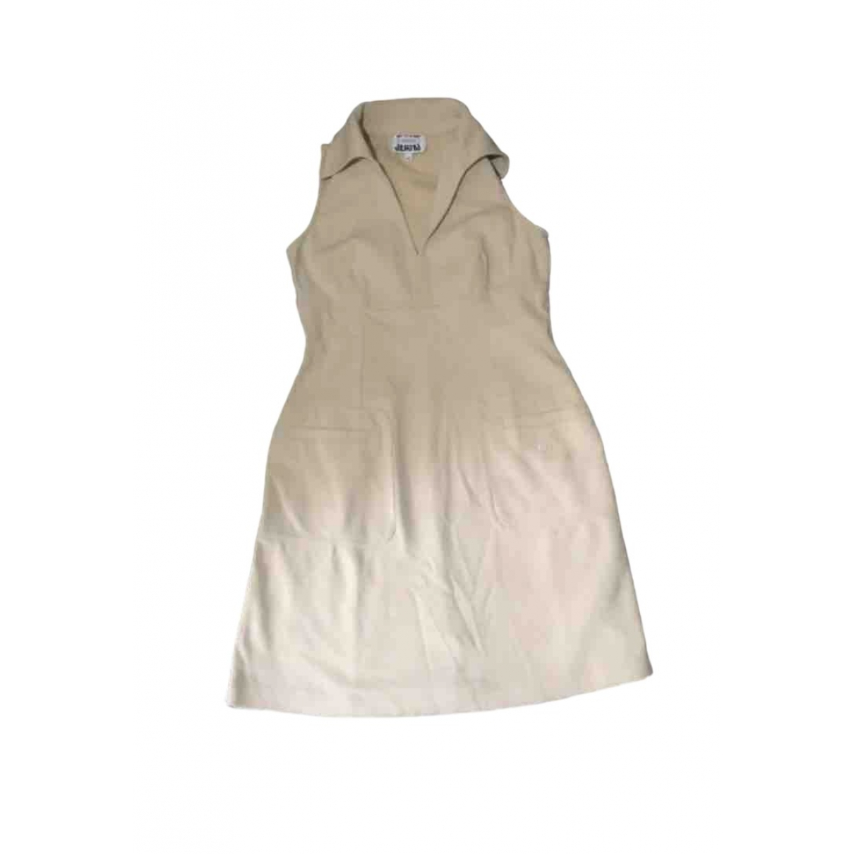 Iceberg \N Beige Cotton dress for Women 40 FR