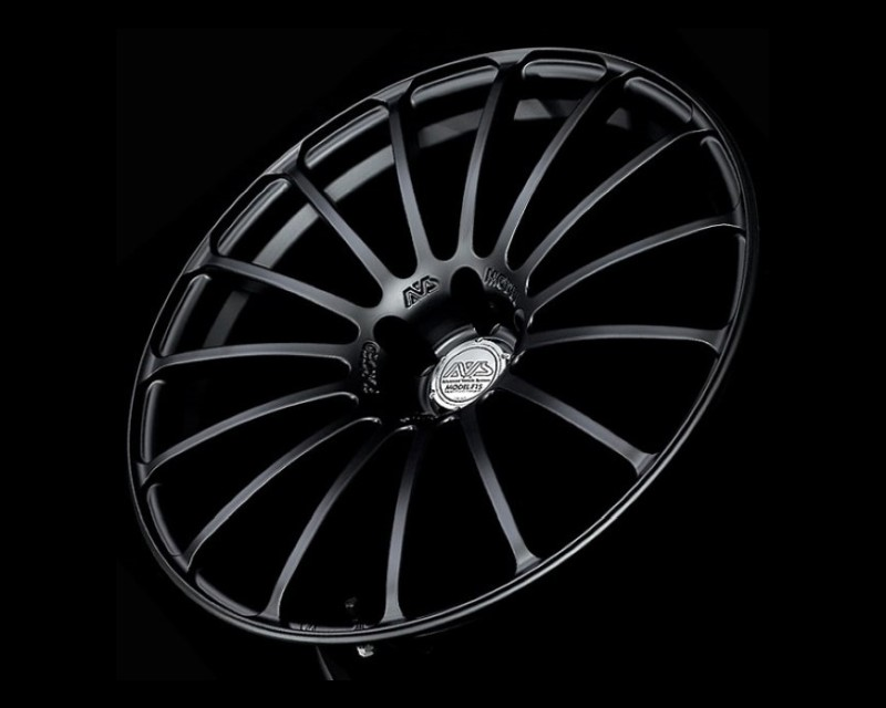AVS Model F15 Wheel 20x8.5 5x114.3 40mm Matte Black