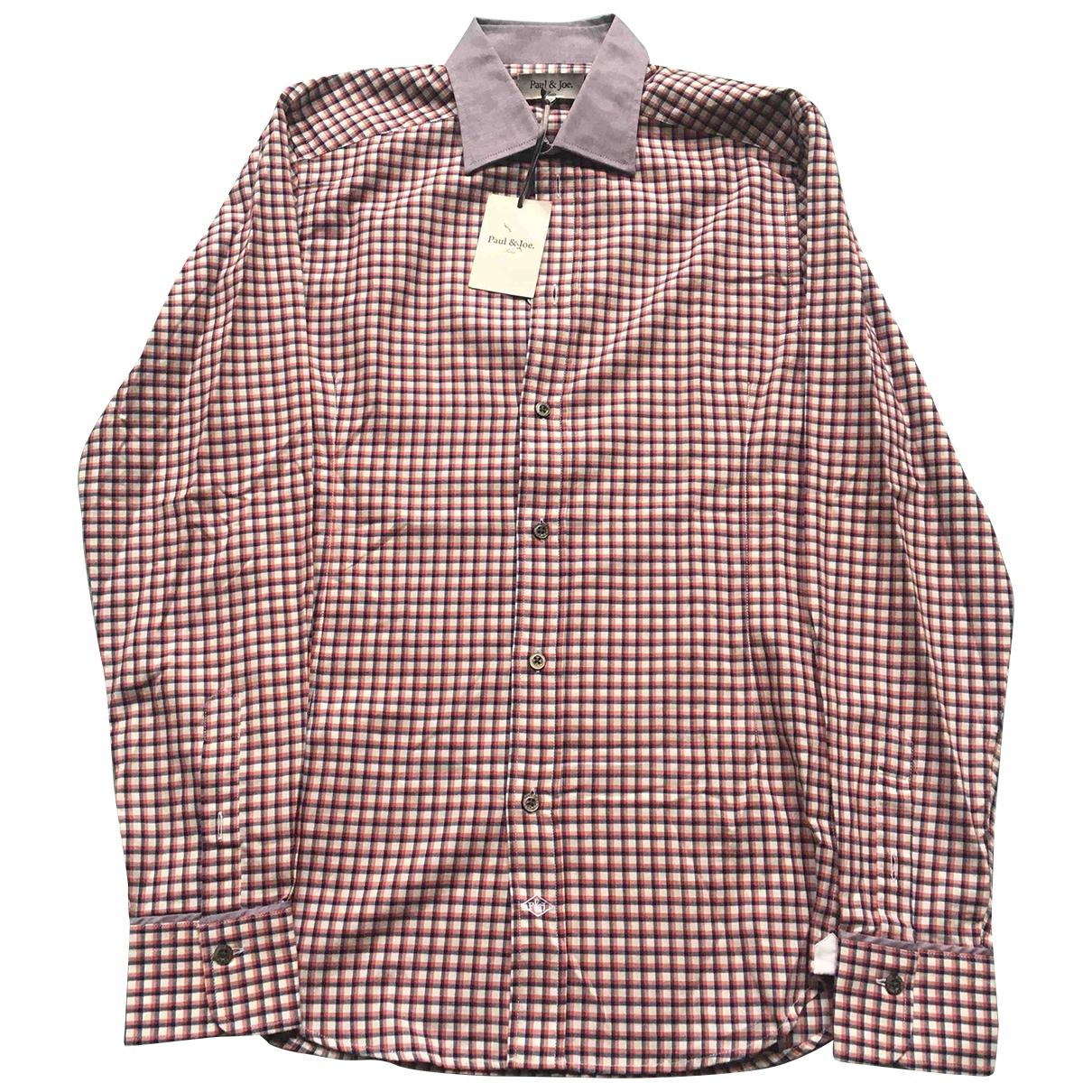 Paul & Joe \N Purple Cotton Shirts for Men XS International