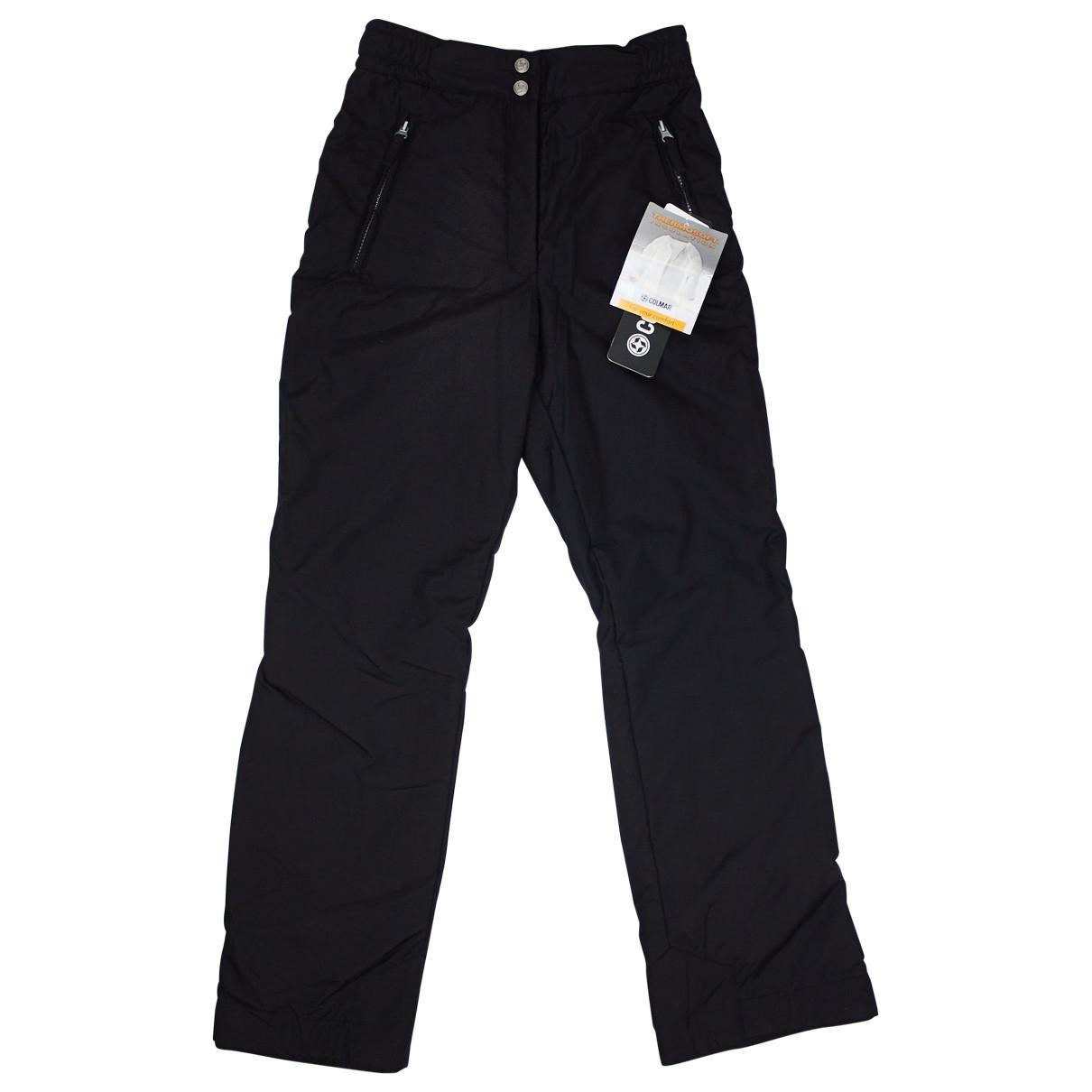 Colmar \N Black Trousers for Women 40 IT