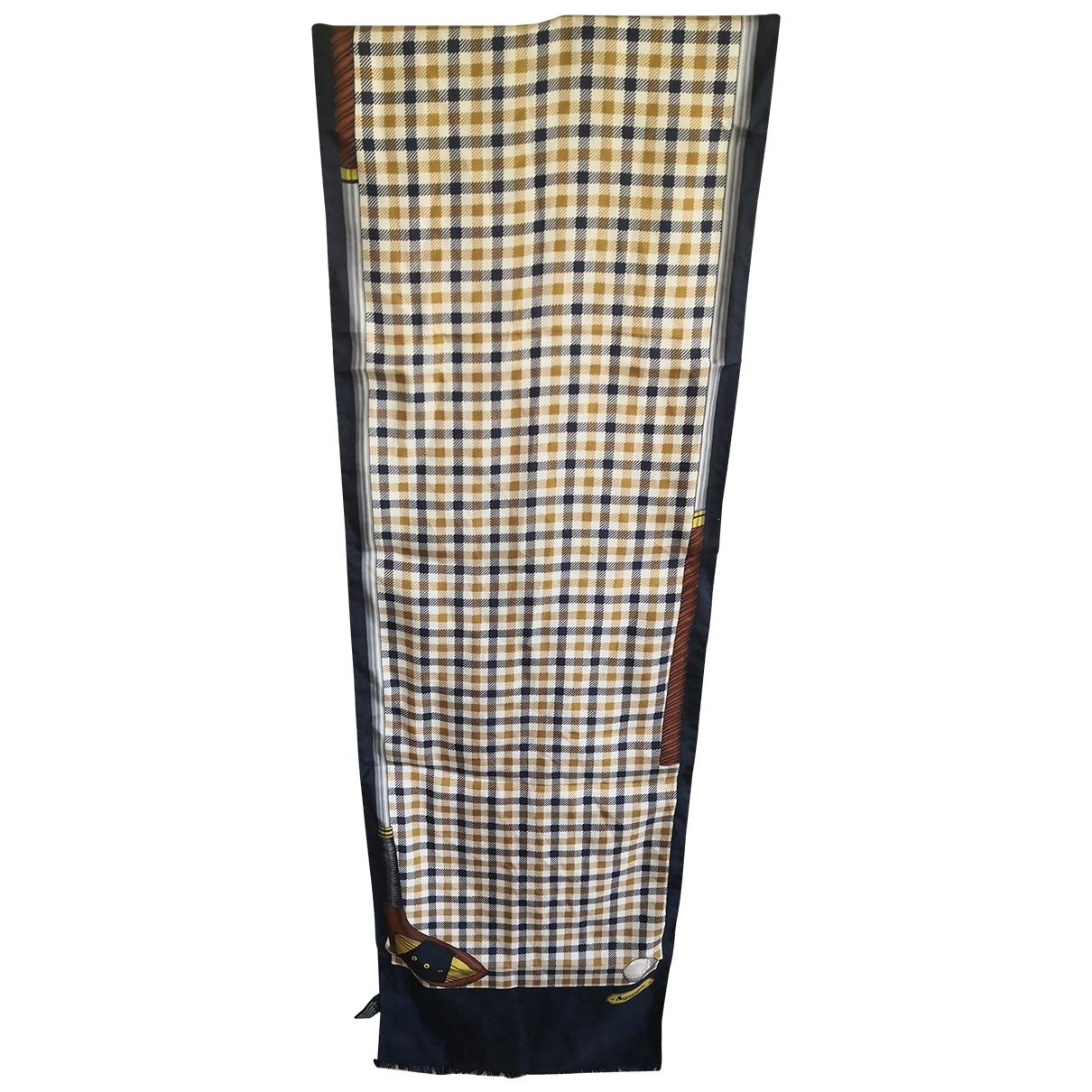 Aquascutum \N Multicolour Silk scarf & pocket squares for Men \N