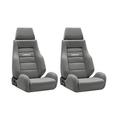 Corbeau GTS II Seat - Pair (Gray) - 20309PR