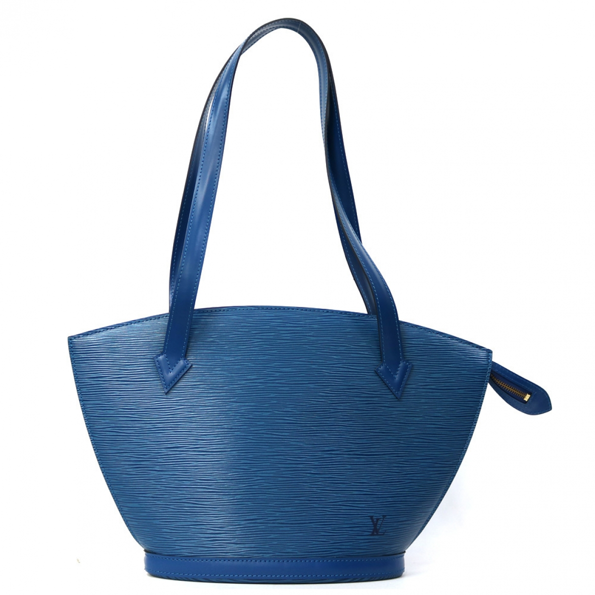 Louis Vuitton Saint Jacques Blue Leather handbag for Women \N