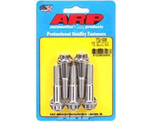 ARP M10 x 1.50 x 45 12pt Stainless Steel Bolts (Set of 5)