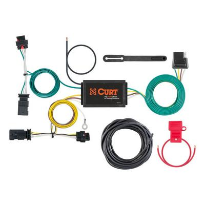 Curt Manufacturing Custom Wiring Harness with 4-Way Flat Output - 56369