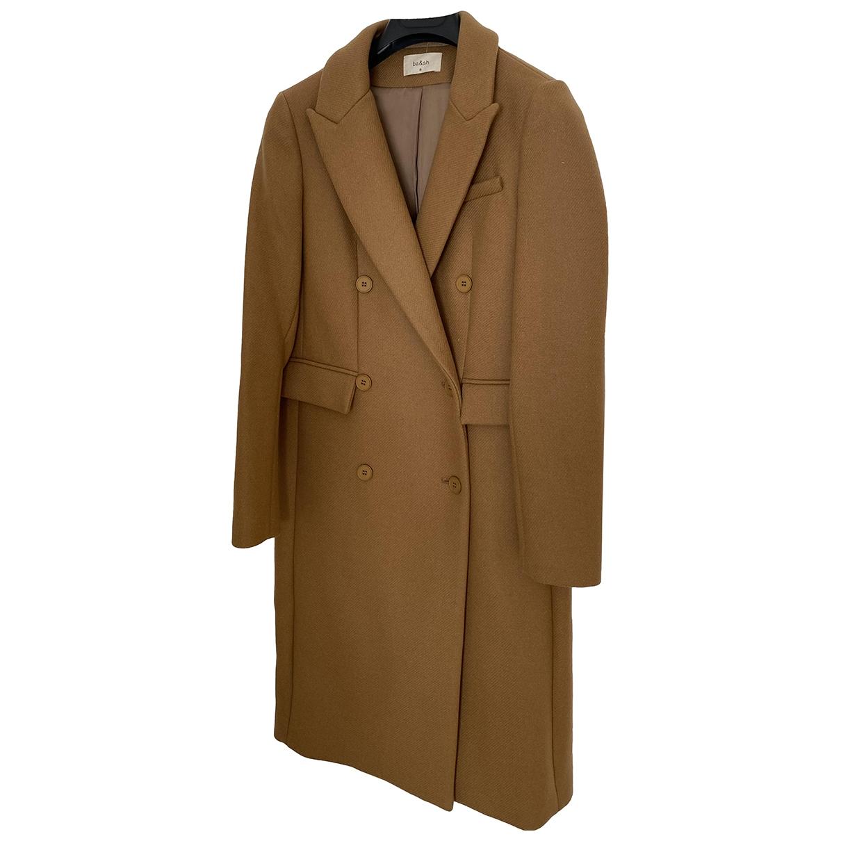 Ba&sh \N Beige Wool coat for Women 0 0-5