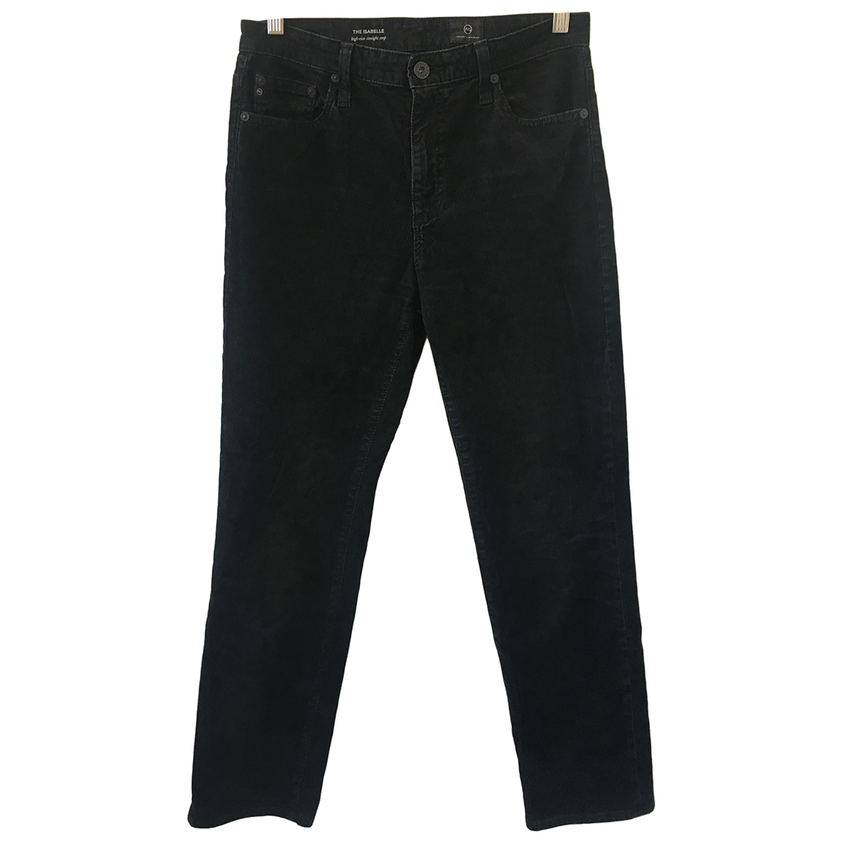 Ag Adriano Goldschmied \N Black Cotton Jeans for Women 27 US