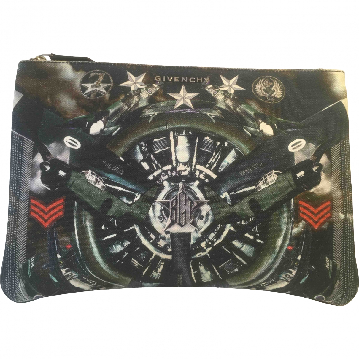 Givenchy \N Multicolour Cotton Small bag, wallet & cases for Men \N