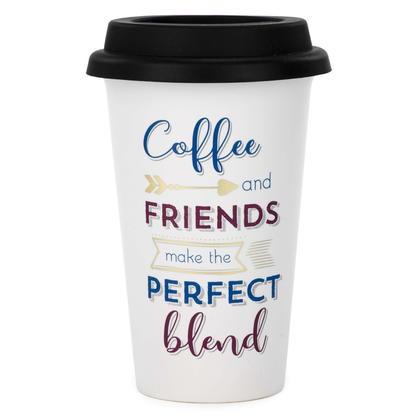 Tasse de voyage - Café et amis 4X6