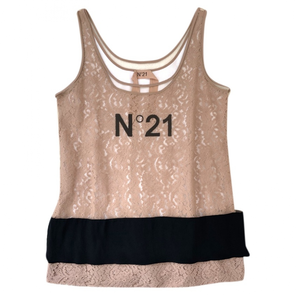 N°21 \N White Cotton  top for Women 42 IT