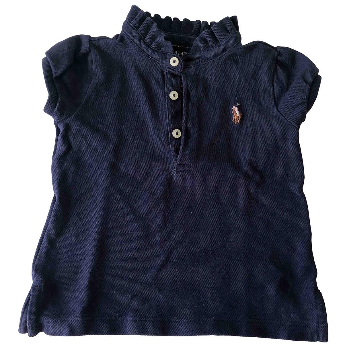Ralph Lauren \N Blue Cotton  top for Kids 9 months - up to 71cm FR