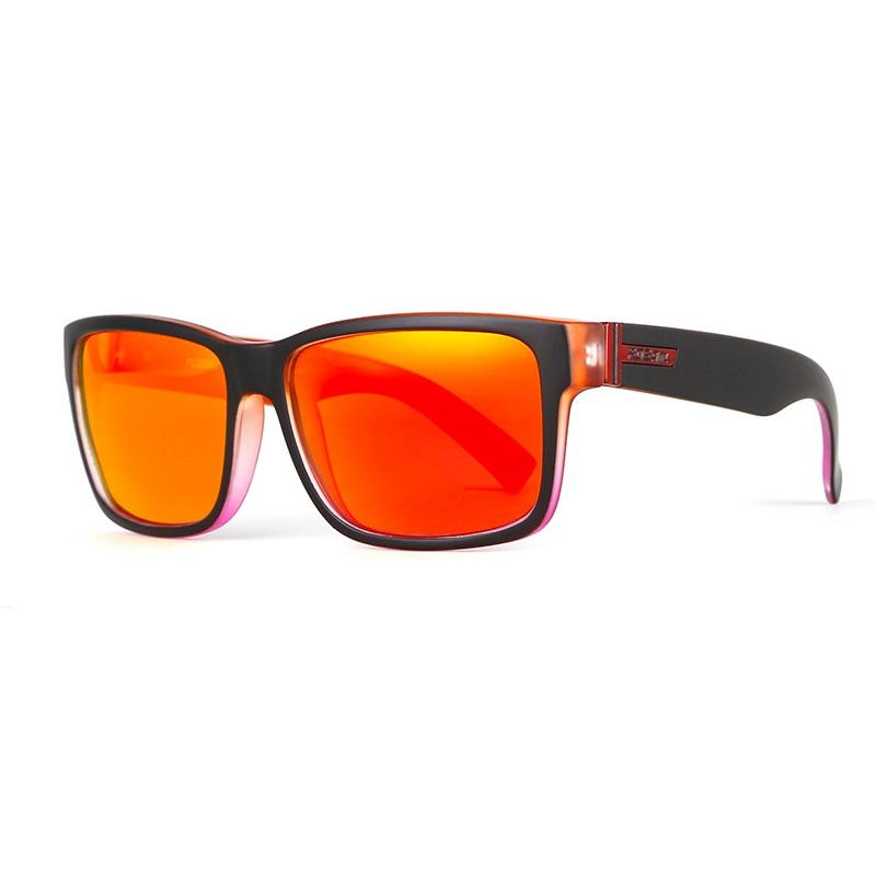 KDEAM KD505 Mens Polarized Glasses Bike Bicycle Cycling Outdoor Sport Sunglasses with Zippered Box