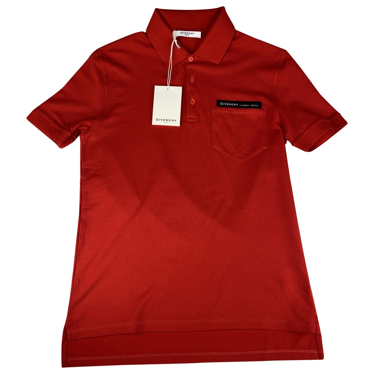 Givenchy \N Red Cotton Polo shirts for Men S International