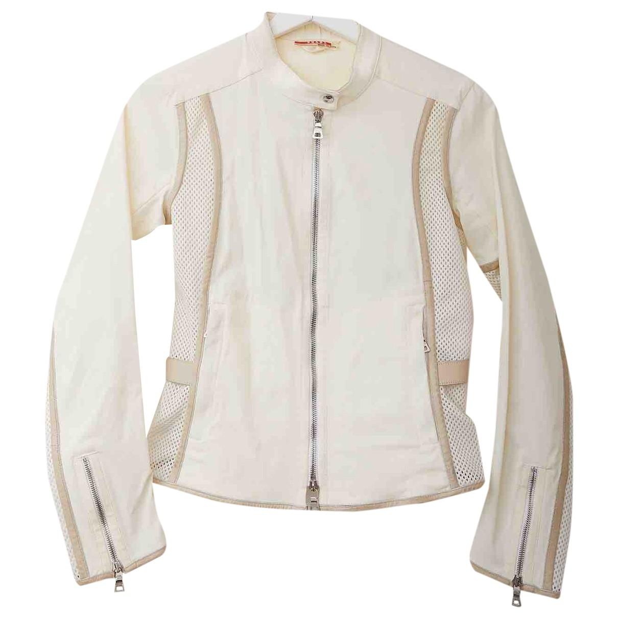 Prada \N White jacket for Women 42 IT