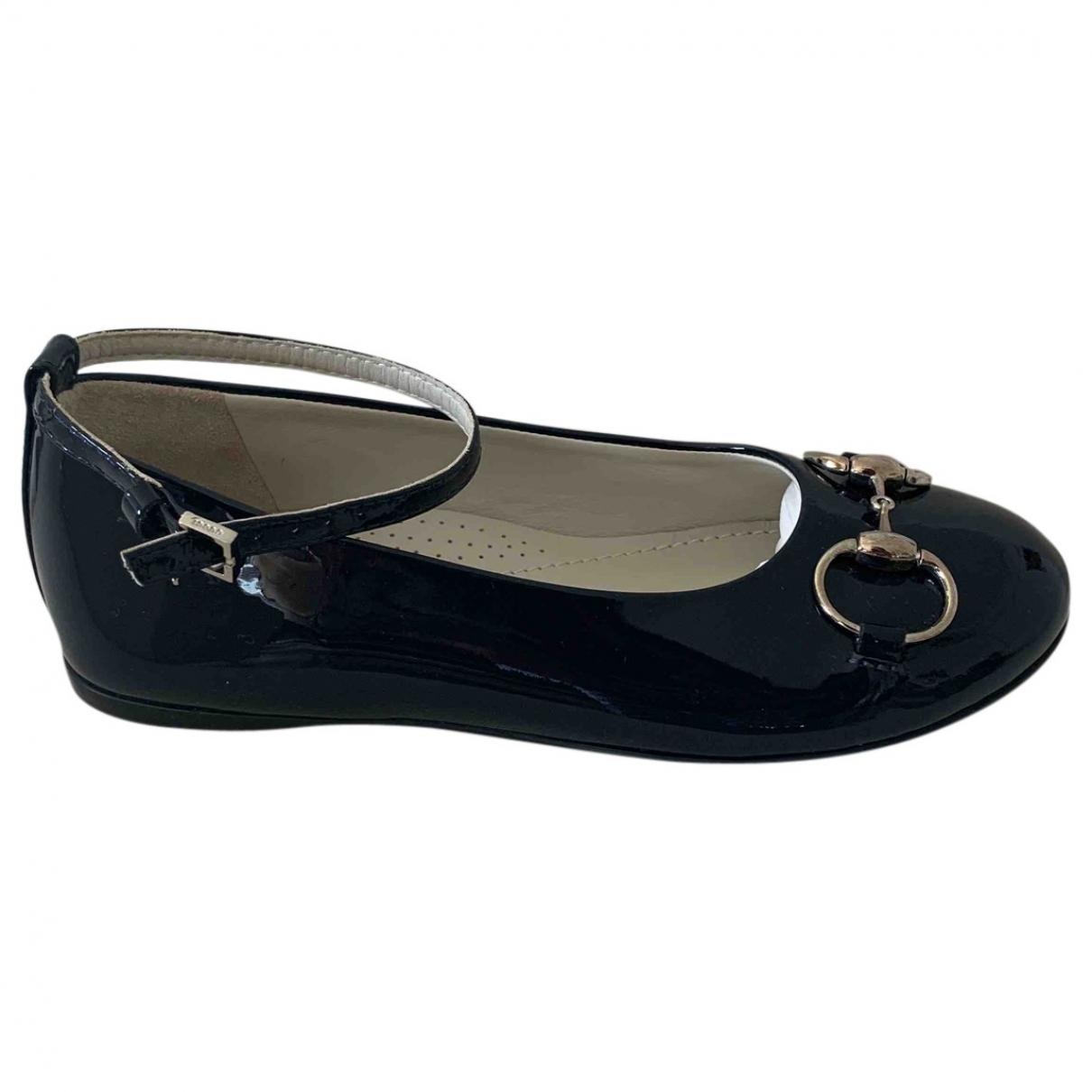 Gucci \N Black Patent leather Ballet flats for Kids 30 EU