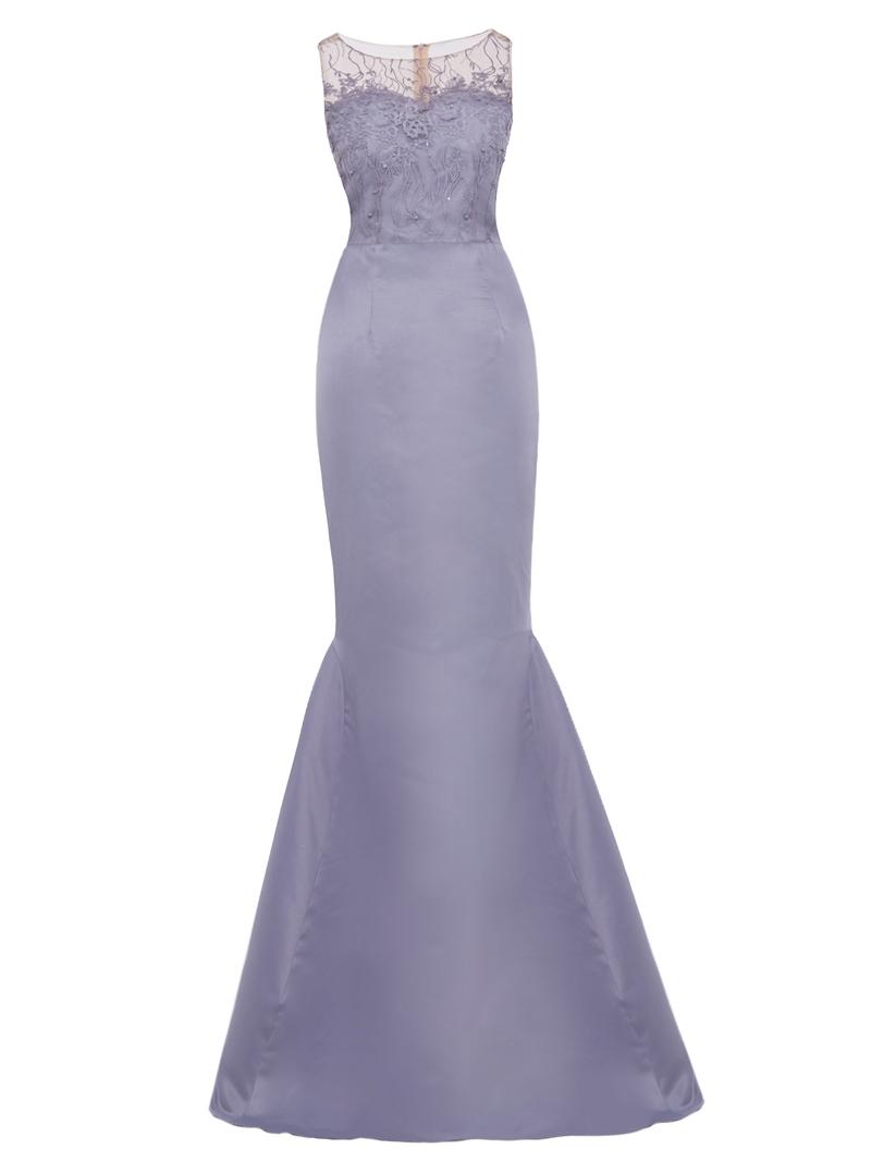 Ericdress Scoop Neck Mermaid Evening Dress With Beadings