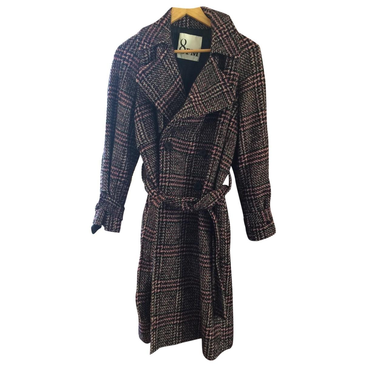 8pm \N Multicolour Wool coat for Women XXS International