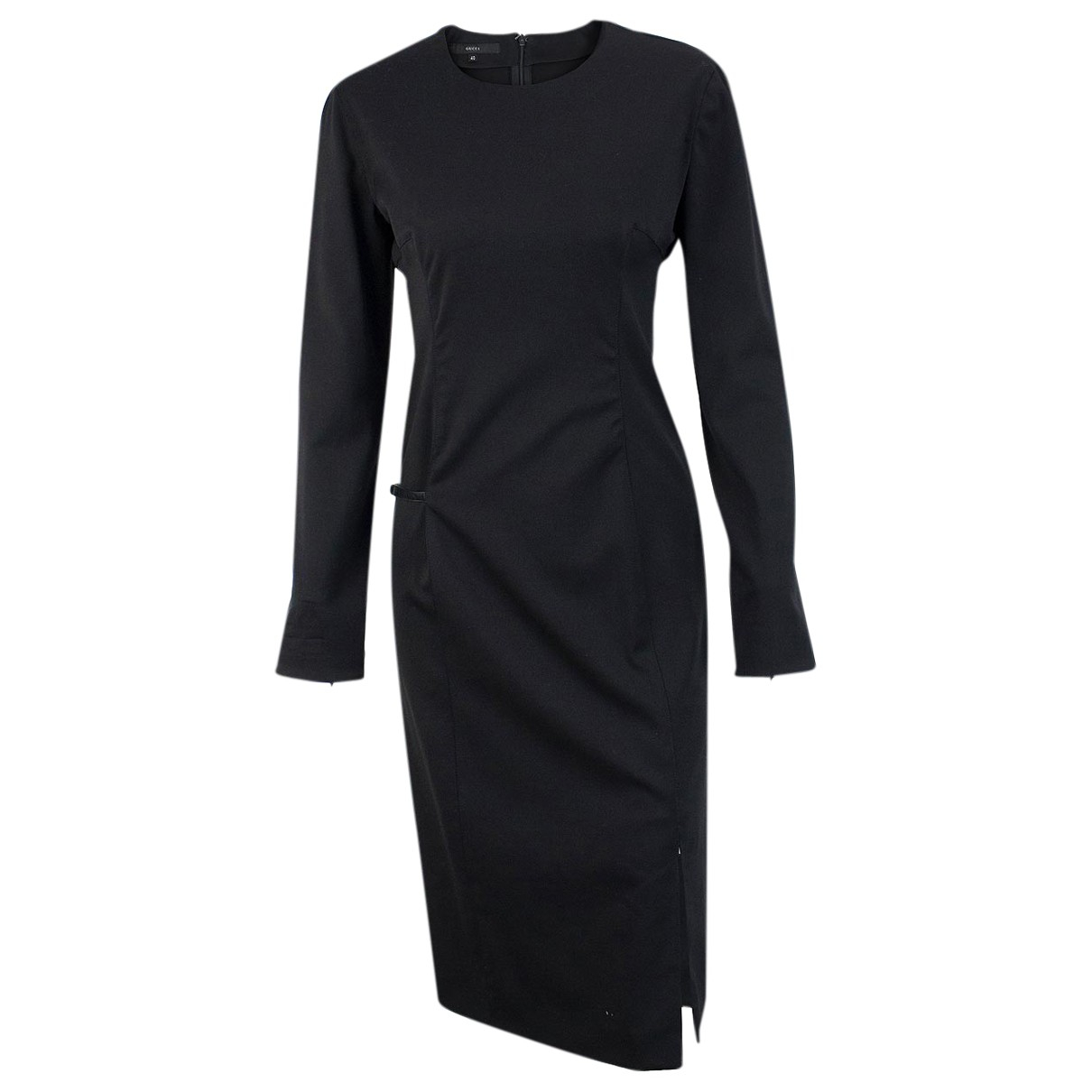 Gucci \N Black Wool dress for Women 40 IT