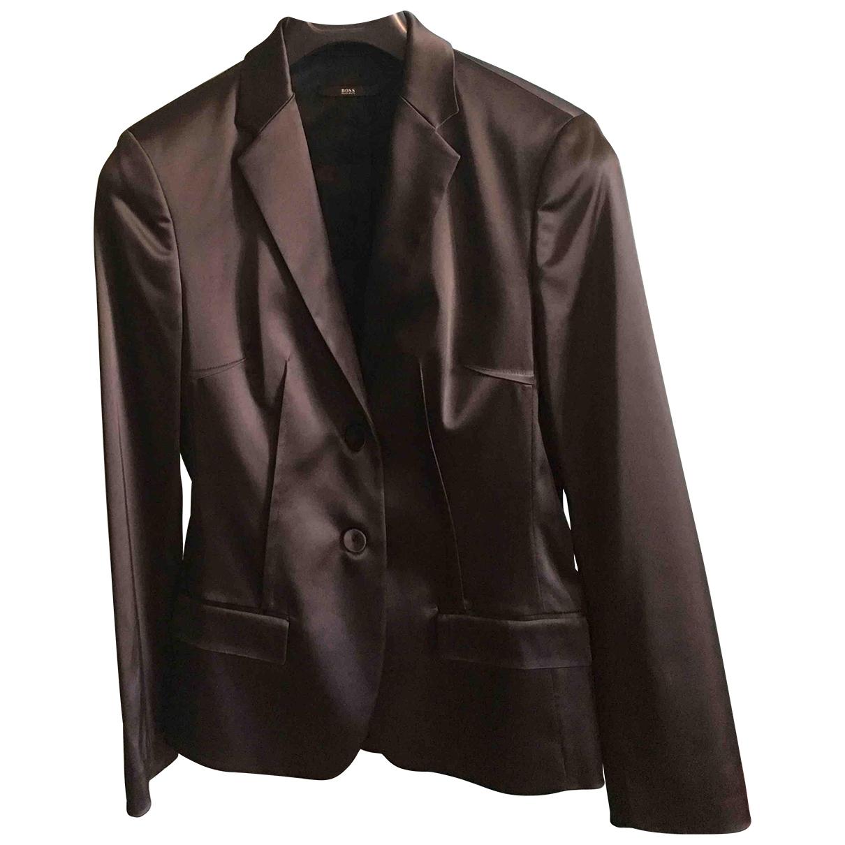 Boss \N Black jacket for Women 40 FR