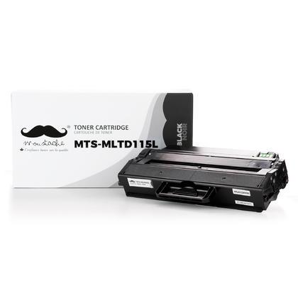 Compatible Samsung MLT-D115L cartouche de toner noire - Moustache