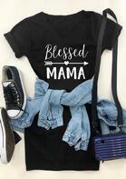 Blessed Mama Arrow Heart Mini Dress - Black