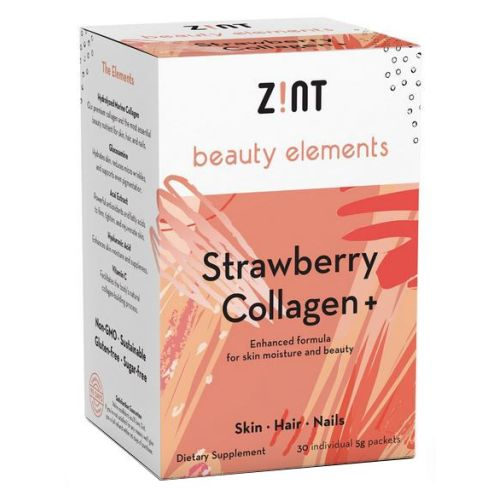 Strawberry Collagen + 30 Count by Zint
