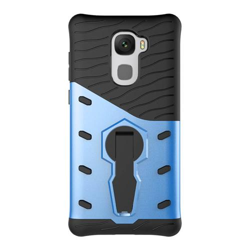 Armour Series Protective Phone Case 360 Degree Rotating Bracket Stand Cover For LeTV LeEco Le Pro3/X720 - Blue