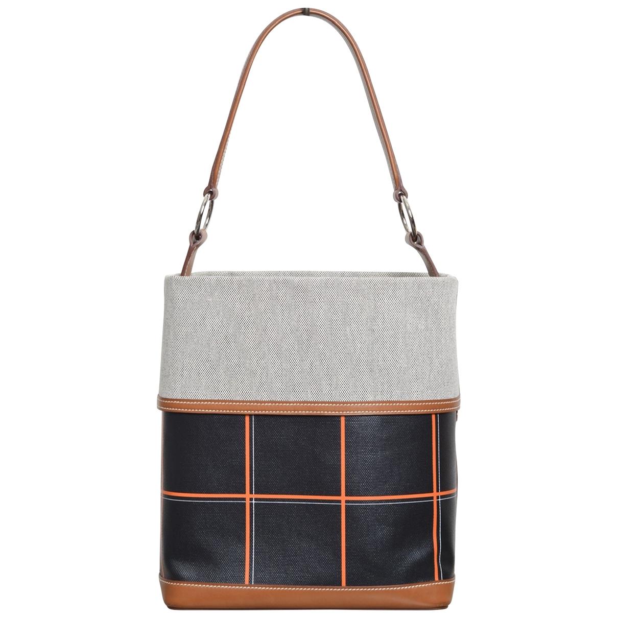 Hermès \N Black Cloth handbag for Women \N