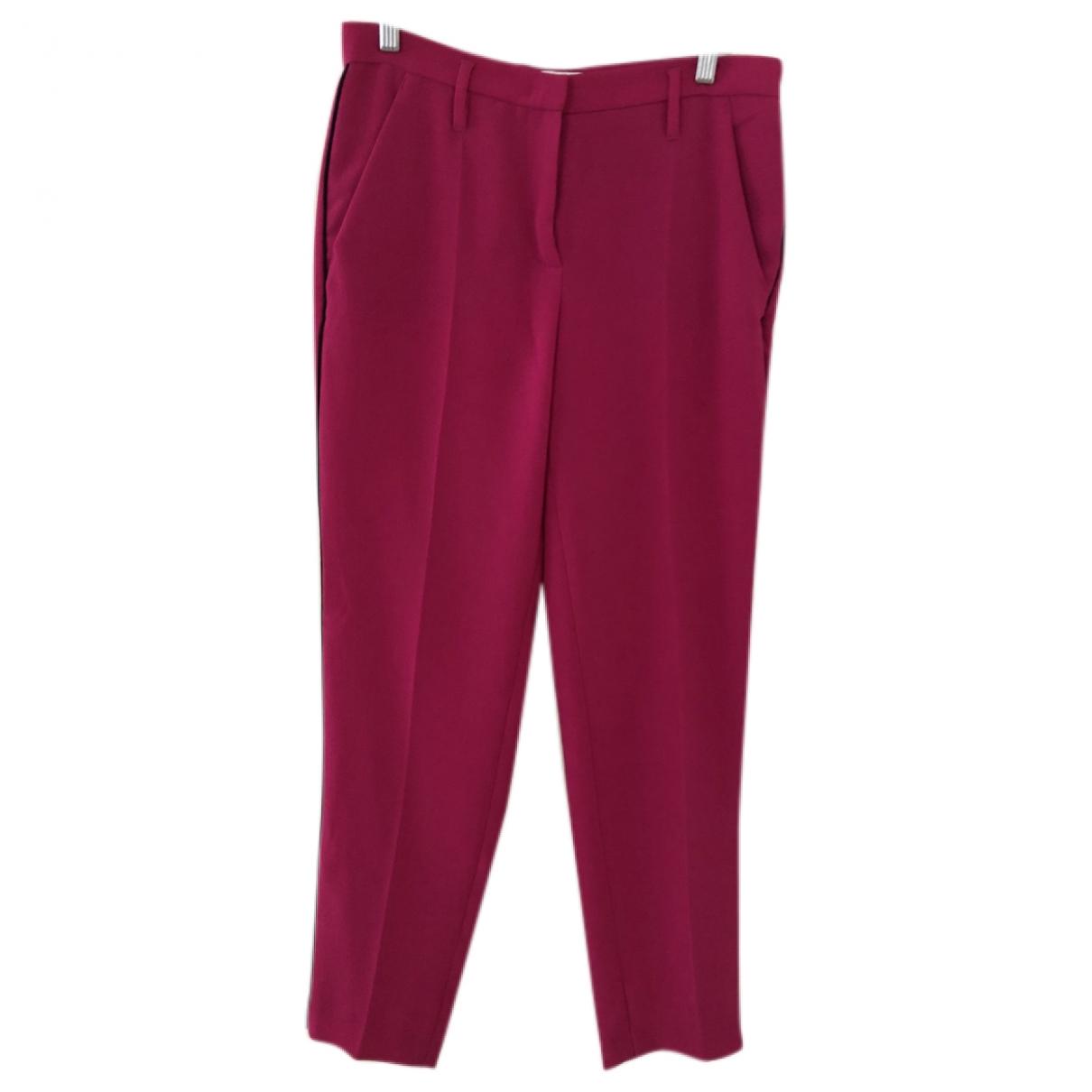 Sonia Rykiel \N Pink Trousers for Women M International