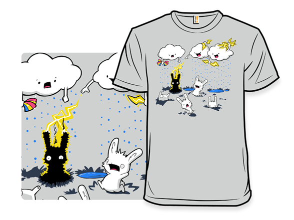 Cloudy With A Chance Of Jerks T Shirt