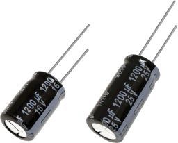 Panasonic 220μF Electrolytic Capacitor 100V dc, Through Hole - EEUFS2A221 (200)