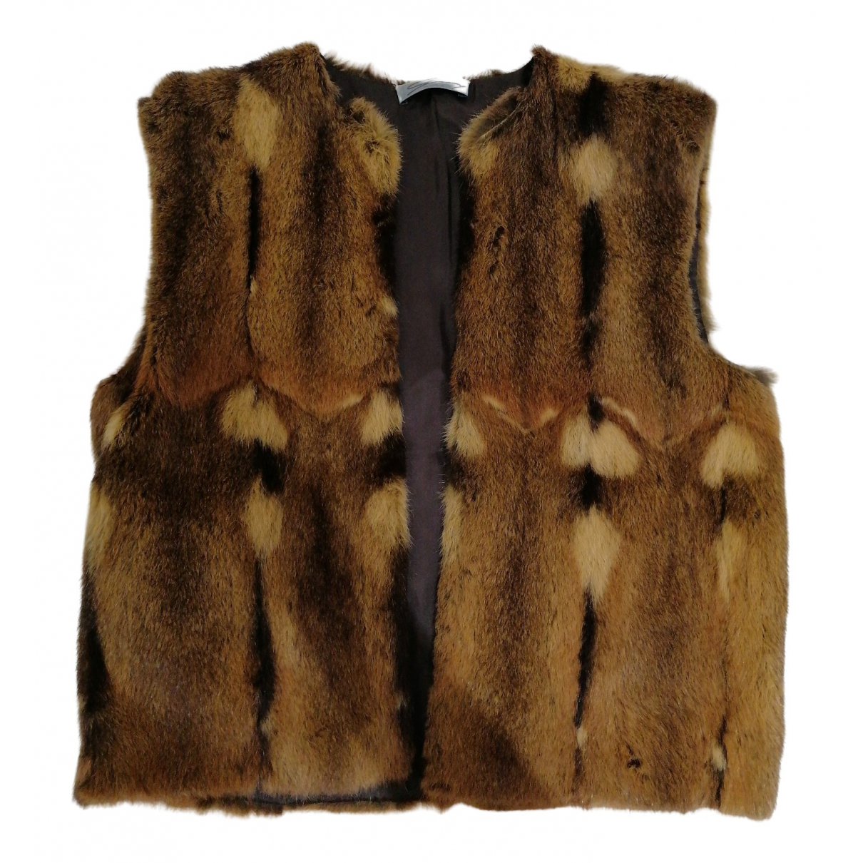 Genny \N Camel Fur Knitwear for Women 42 IT