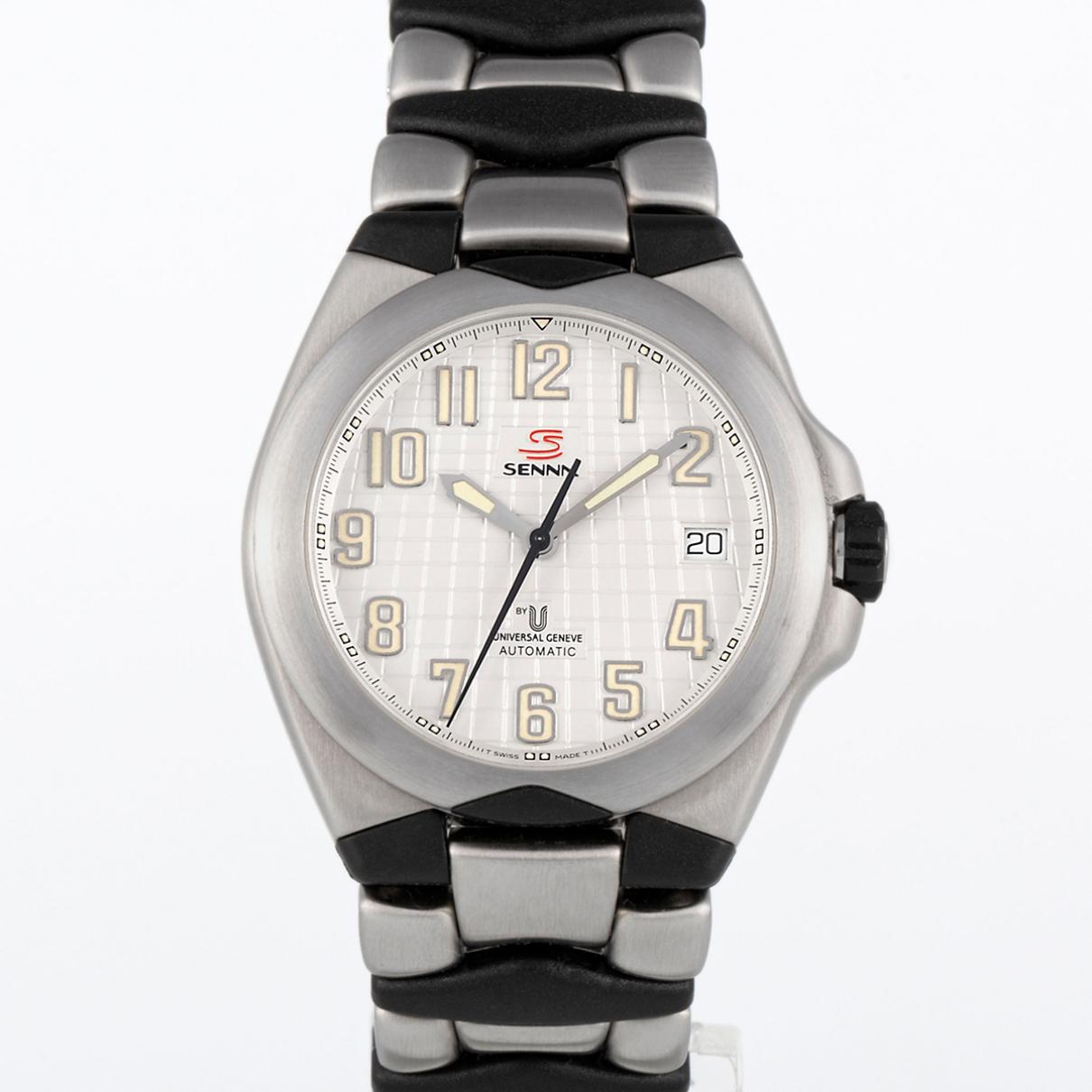 Universal Geneve \N White Steel watch for Men \N