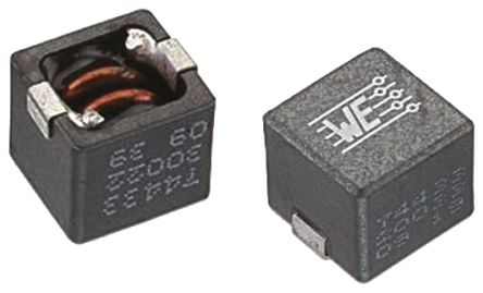 Wurth Elektronik Wurth, WE-HCC, 8070 Shielded Wire-wound SMD Inductor with a Ferrite Core, 680 nH ±20% Wire-Wound 19A Idc