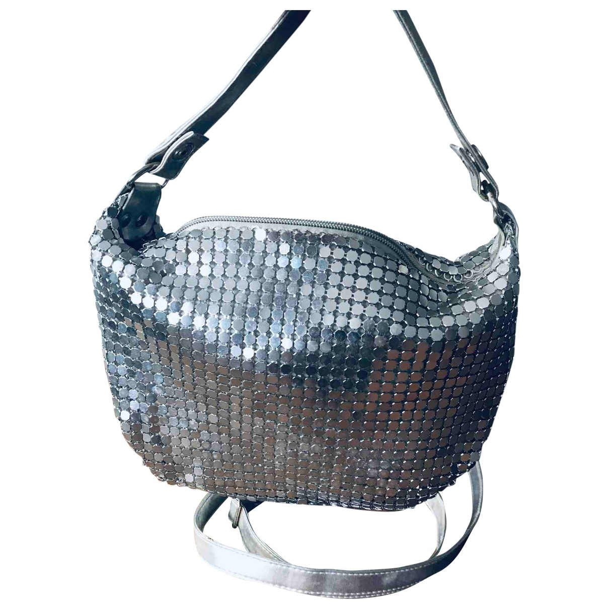 Non Signé / Unsigned \N Silver Metal Clutch bag for Women \N