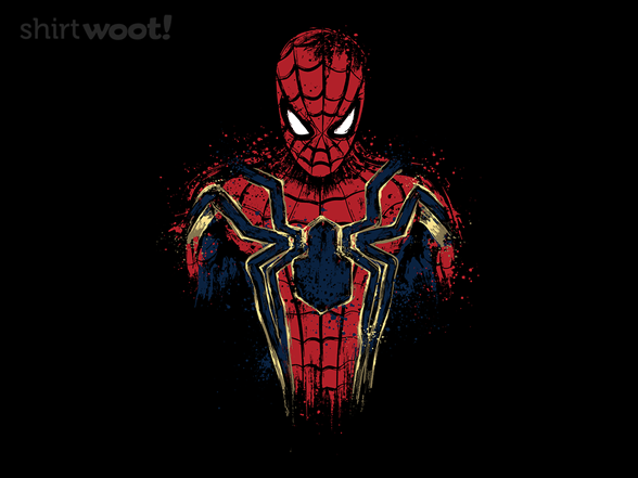 Infinity Spider T Shirt