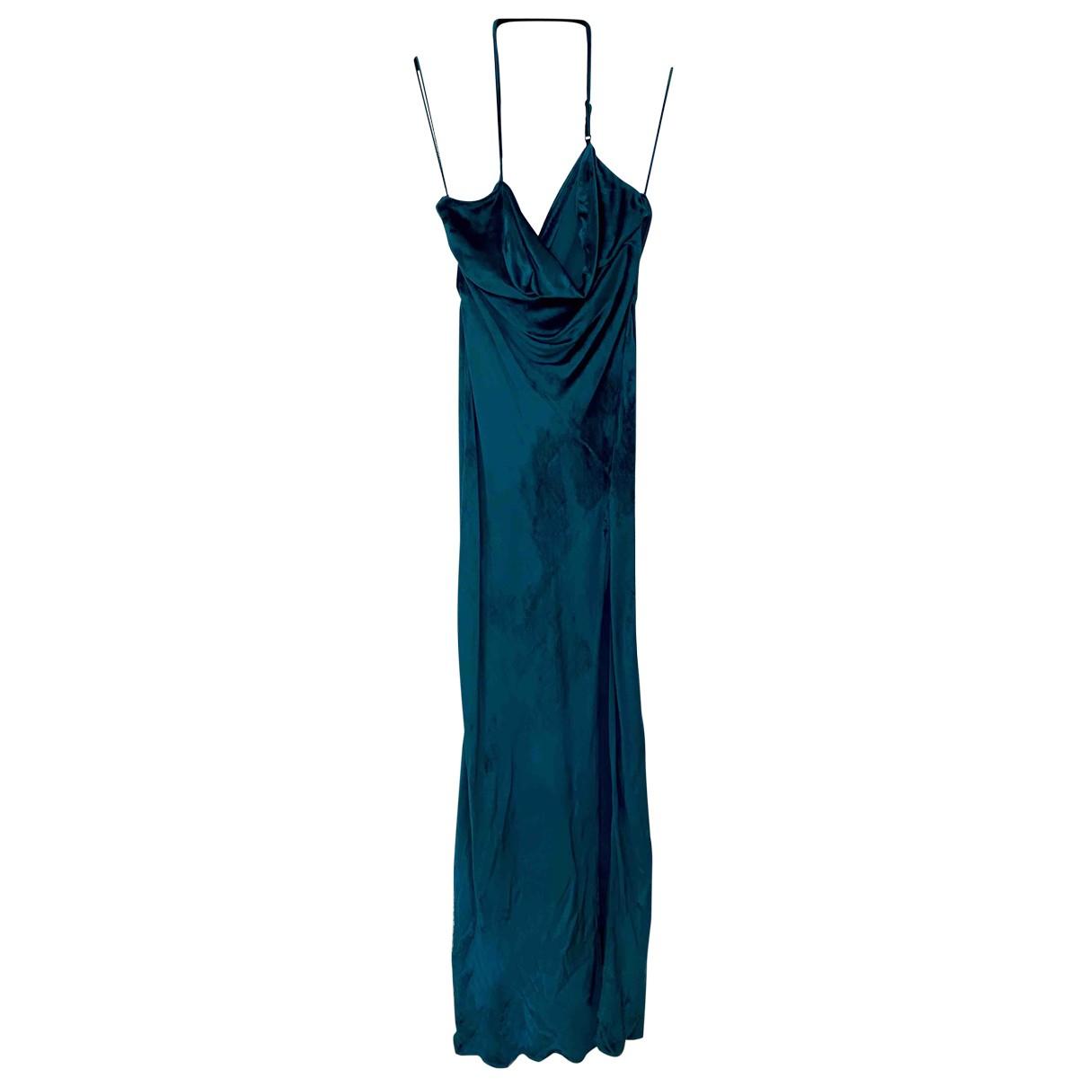 Attico \N Blue Velvet dress for Women 2 0-5