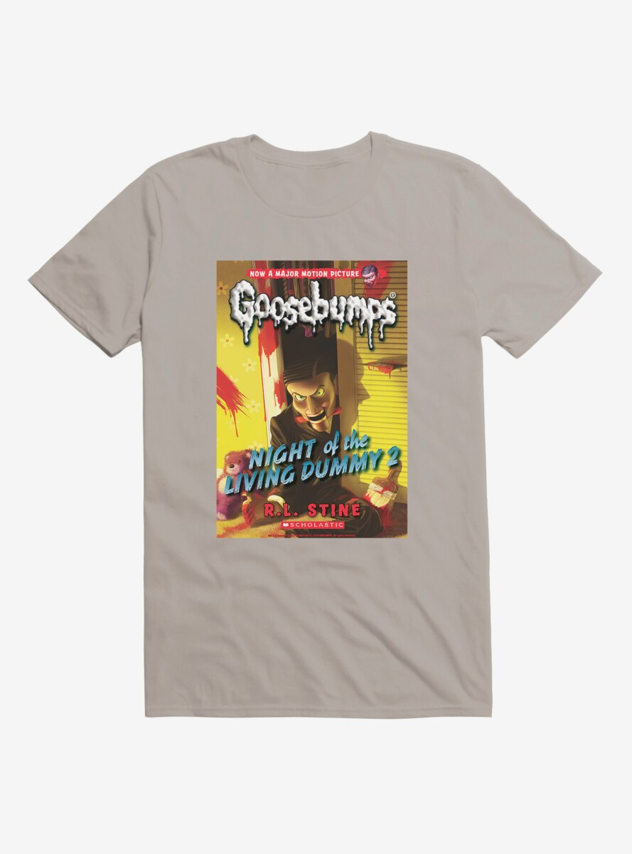 Goosebumps Night Of The Living Dummy 2 Book T-Shirt